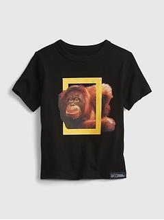 babyGap   National Geographic Photo Ark 100% Organic Cotton T-Shirt