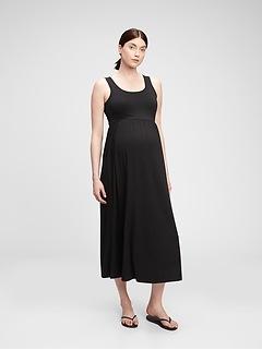 Maternity Scoopneck Maxi Dress