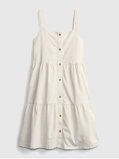 Kids Tiered Denim Dress