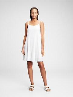 Crinkle Cami Swing Dress