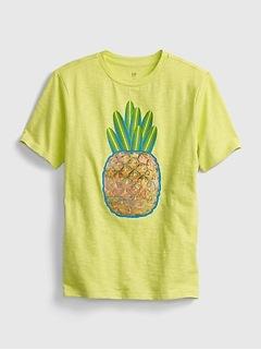 Kids Lenticular Graphic T-Shirt
