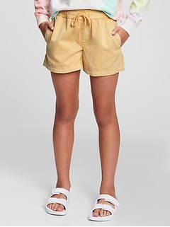 Kids Gen Good Pull-On Shorts with Washwell™