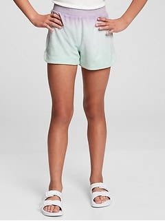 Kids High-Rise Ombre Pull-On Shorts