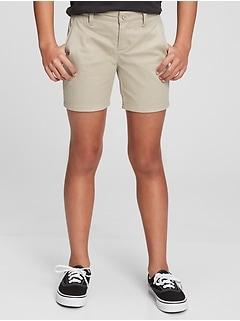 Kids Uniform Midi Shorts