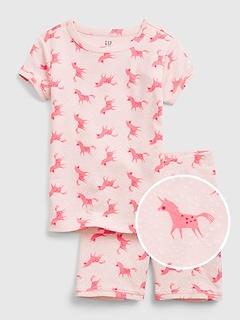 Kids 100% Organic Cotton Unicorn PJ Set