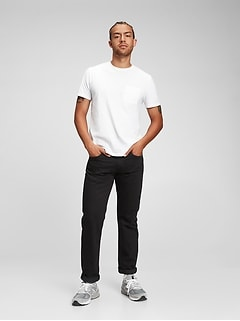 Straight Jeans With Washwell™