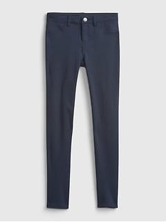 Kids Uniform Ponte Pants