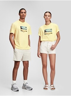 100% Organic Cotton Graphic T-Shirt