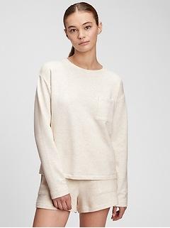Cloud Light Pocket Crewneck Sweatshirt
