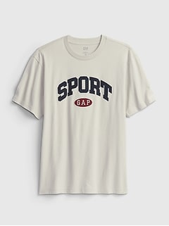 100% Organic Cotton Gap Sports Logo T-Shirt