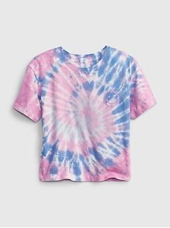 Kids 100% Organic Cotton Boxy Graphic T-Shirt