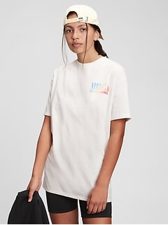 Teen | Band Graphic Recycled Polyester T-Shirt