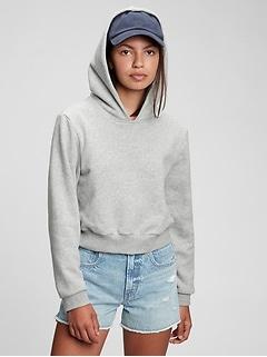 Teen Cropped Hoodie