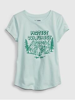 GapKids   Star Wars™ 100% Organic Cotton Graphic T-Shirt