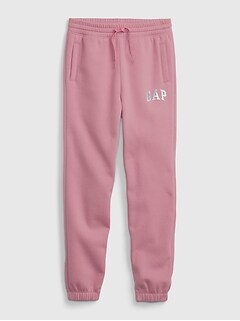 Kids Gap Logo Slouchy Pull-On Joggers