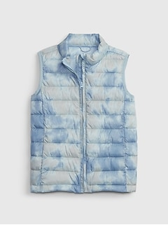 Kids ColdControl Recycled Puffer Vest