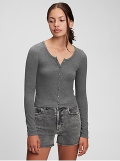Teen Ribbed-Knit Cardigan