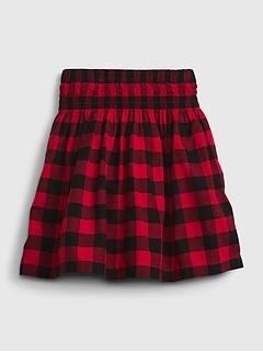 Kids Plaid Skirt