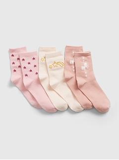 Kids Unicorn Socks (3-Pack)