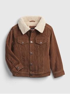 Toddler Sherpa Lined Corduroy Jacket