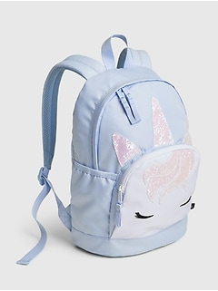 Kids Recycled Polyester Junior Unicorn Backpack