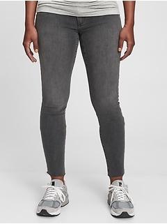 Maternity Inset Panel Skinny Jeans