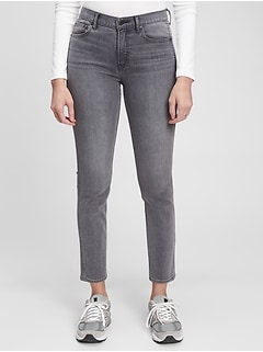Mid Rise Vintage Slim Jeans with Washwell™