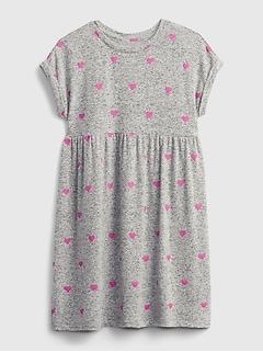Kids Softspun Print Dress