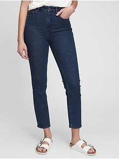 Sky High Rise Vintage Slim Jeans with Secret Smoothing Pockets and Washwell™