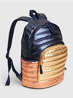 Kids Quilted Senior Backpack