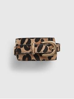 Kids Leopard Belt