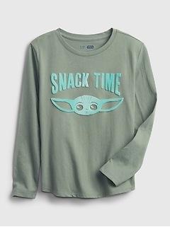 GapKids   Star Wars™ 100% Organic Cotton Interactive Graphic T-Shirt