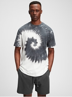 100% Organic Tie-Dye T-Shirt