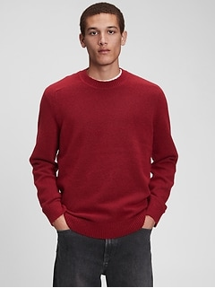 Recycled Crewneck Sweater