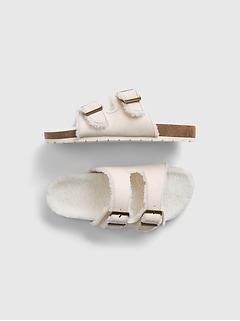 Kids Sherpa Sandals