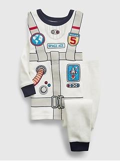 babyGap 100% Organic Cotton Astronaut Graphic PJ Set