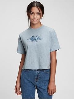 Teen 100% Organic Cotton Graphic T-Shirt