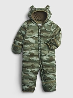 Baby ColdControl Puffer One-Piece