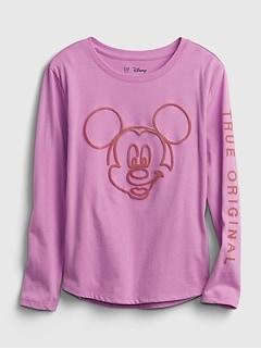 GapKids Disney Mickey Mouse 100% Organic Cotton Interactive T-Shirt