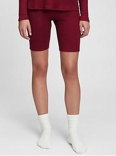 Softspun Ribbed Bike Shorts