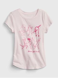 Kids 100% Organic Cotton Graphic T-Shirt