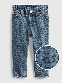 Toddler Pull-On Just Like Mom Jeans with Washwell®