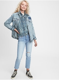 High Rise Vintage Slim Jeans With Secret Smoothing Pockets