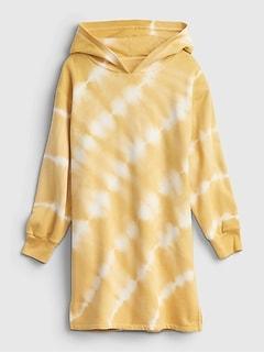 Kids Graphic Hoodie Dress