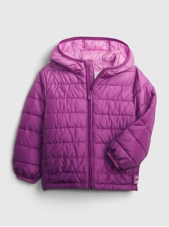 Toddler Dip-Dye ColdControl Recycled Puffer Jacket