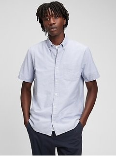 Lived-In Stretch Oxford Shirt