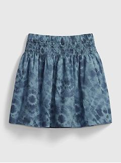 Kids Smocked Skirt
