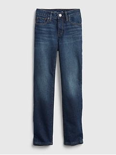 Kids Girlfriend Jeans with Washwell™