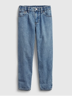 Kids Barrel Jeans with Washwell ™
