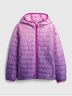Kids 100% Recycled Polyester ColdControl Puffer Jacket